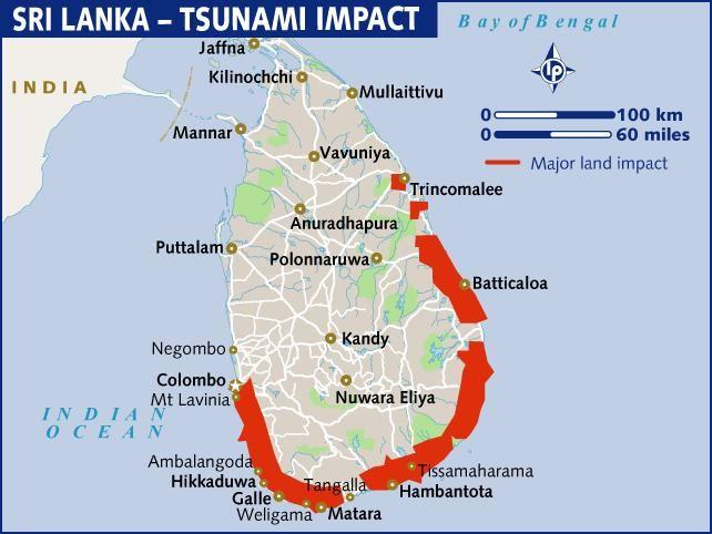 Projet psychosocial pour les victimes du Tsunami (Sri Lanka)